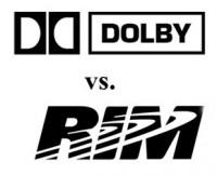 Dolby-vs-RIM