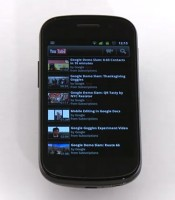 YouTube HD na Androidzie 2.x