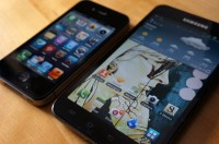 iPhone 4S vs Galaxy Note II