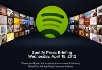 Spotify konfa