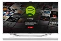 HDTV Samsung Spotify