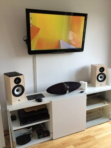 System PC Audio w salonie